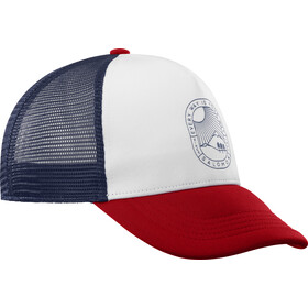 Salomon Summer Logo Cap Herre white/goji berry